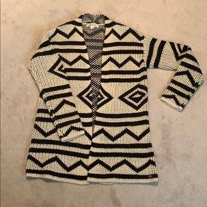 Long Roxy Aztec Sweater